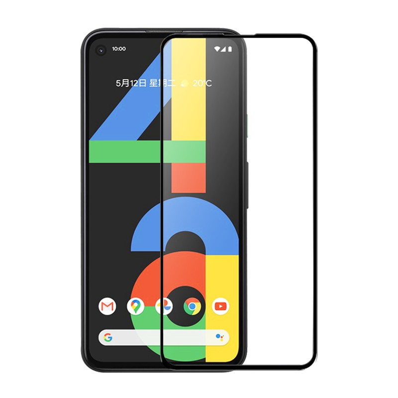 Google全膠滿版玻璃貼 玻璃保護貼 適用Pixel 5 4a 蝦皮24h