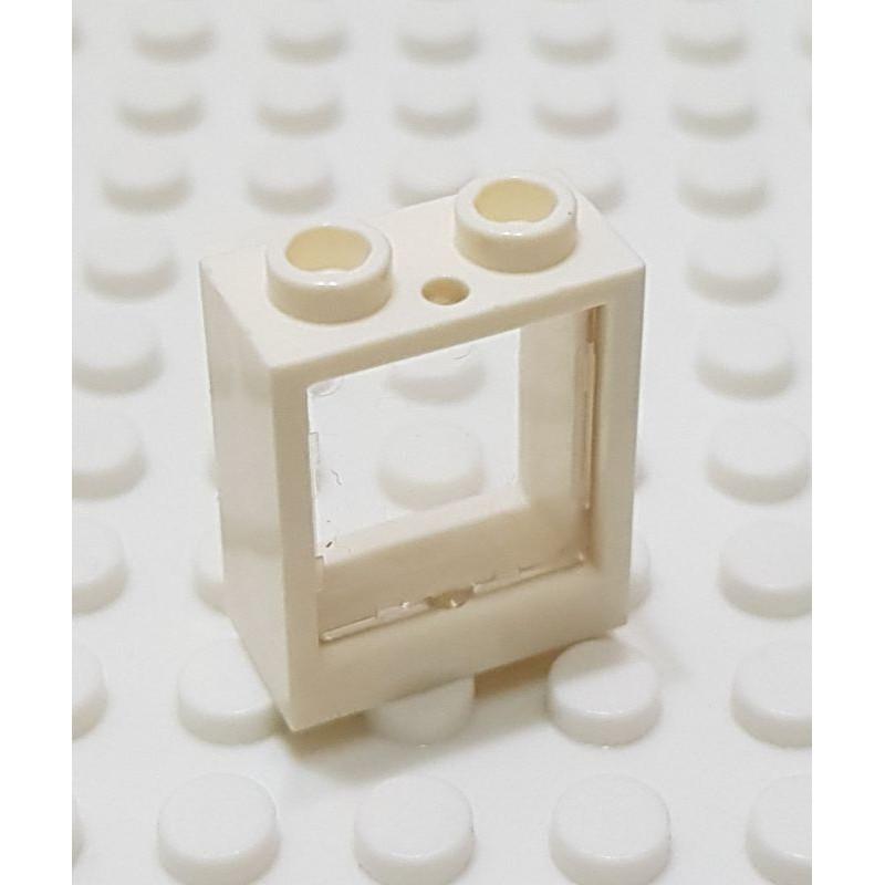 樂高 60592+60601 10185 21317 白色 框 透明 玻璃 窗 窗戶 建築 配件