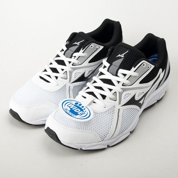Mizuno 美津濃 MAXIMIZER 22 寬楦 慢跑鞋 白/黑 K1GA200002 現貨
