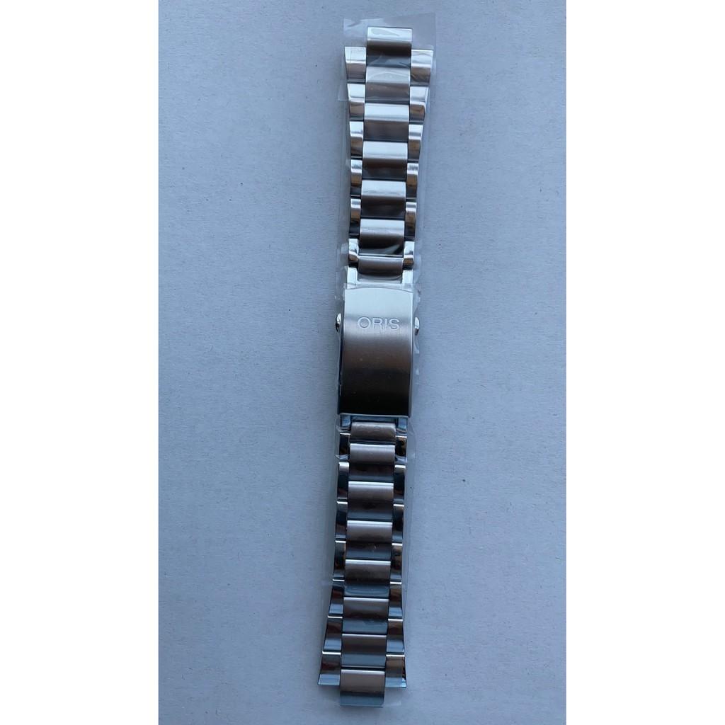 適配豪利時ORIS Aquis 系列  24*12MM 不鏽鋼錶帶 7730/7740 表徑43.5MM 原裝錶帶