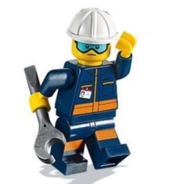 LEGO 樂高 40345 工作人員 太空 CITY 人偶 地勤人員  60230 60228 21321 92176