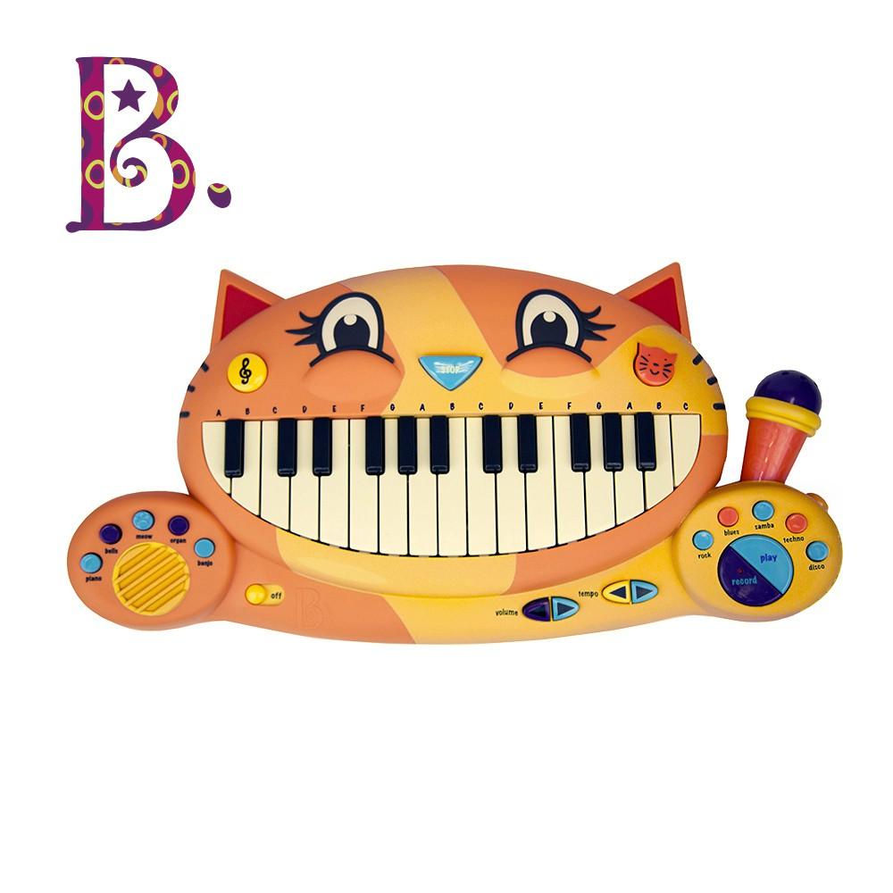 B.Toys  大嘴貓鋼琴 音樂 聽覺 鋼琴 節奏感