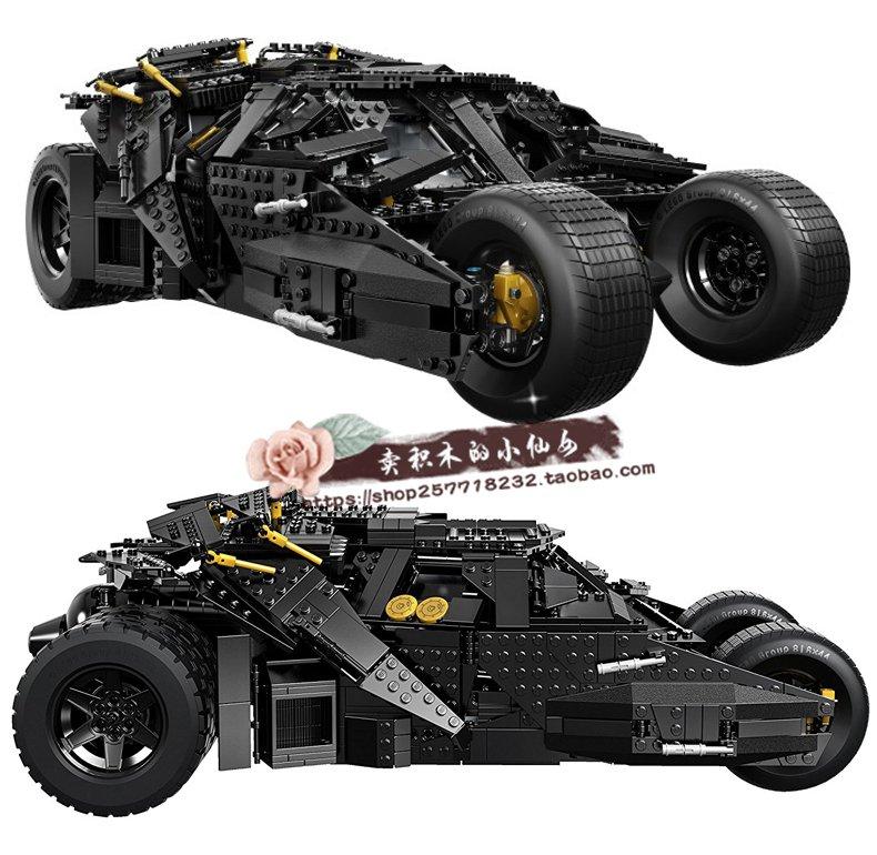 爆款LEGO樂高 超級英雄 蝙蝠俠大電影 蝙蝠車76023蝙蝠俠戰車積木玩具