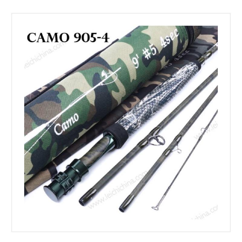 《一朗釣具》CAMO 9054 迷彩飛蠅竿!