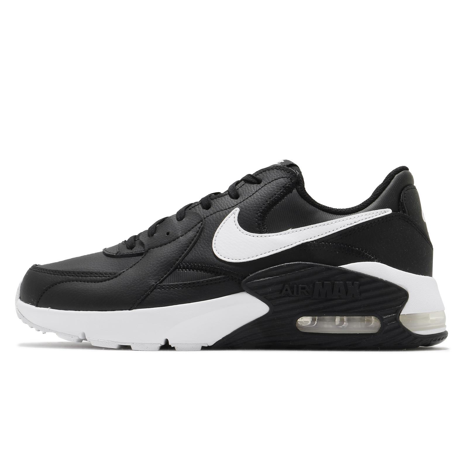 Nike 休閒鞋 Air Max Excee Leather 黑白 氣墊 皮革 男鞋 【ACS】 DB2839-002