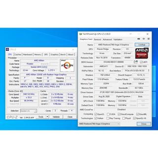 AMD Athlon 320GE 規格同3000G請先詳閱賣場說明