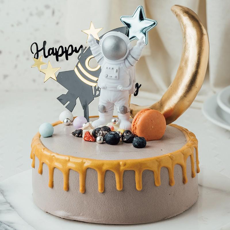 【PATIO 帕堤歐】造型蛋糕 太空人 火箭 月球 奢華蛋糕 卡通造型蛋糕 生日蛋糕 巧克力蛋糕 慶生蛋糕 男生禮物