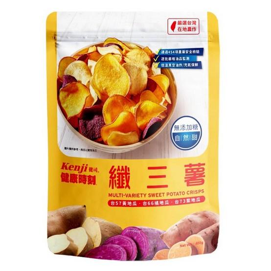 [特價] 纖三薯 COSTCO代購 健司纖三薯脆片 地瓜餅 健司纖三薯 400g 好市多代購