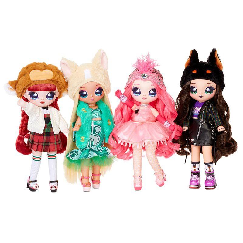 【精品現貨-免運】日本-正版nanana surprise娜娜娜驚喜布偶少女波姆時尚娃娃女孩玩具