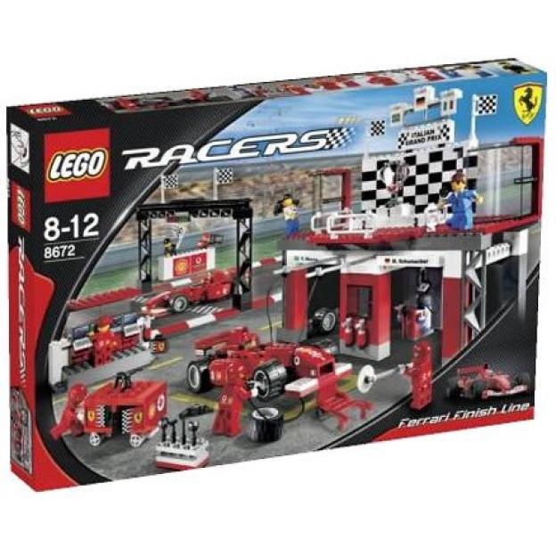 LEGO 樂高 8672 法拉利 F1維修站