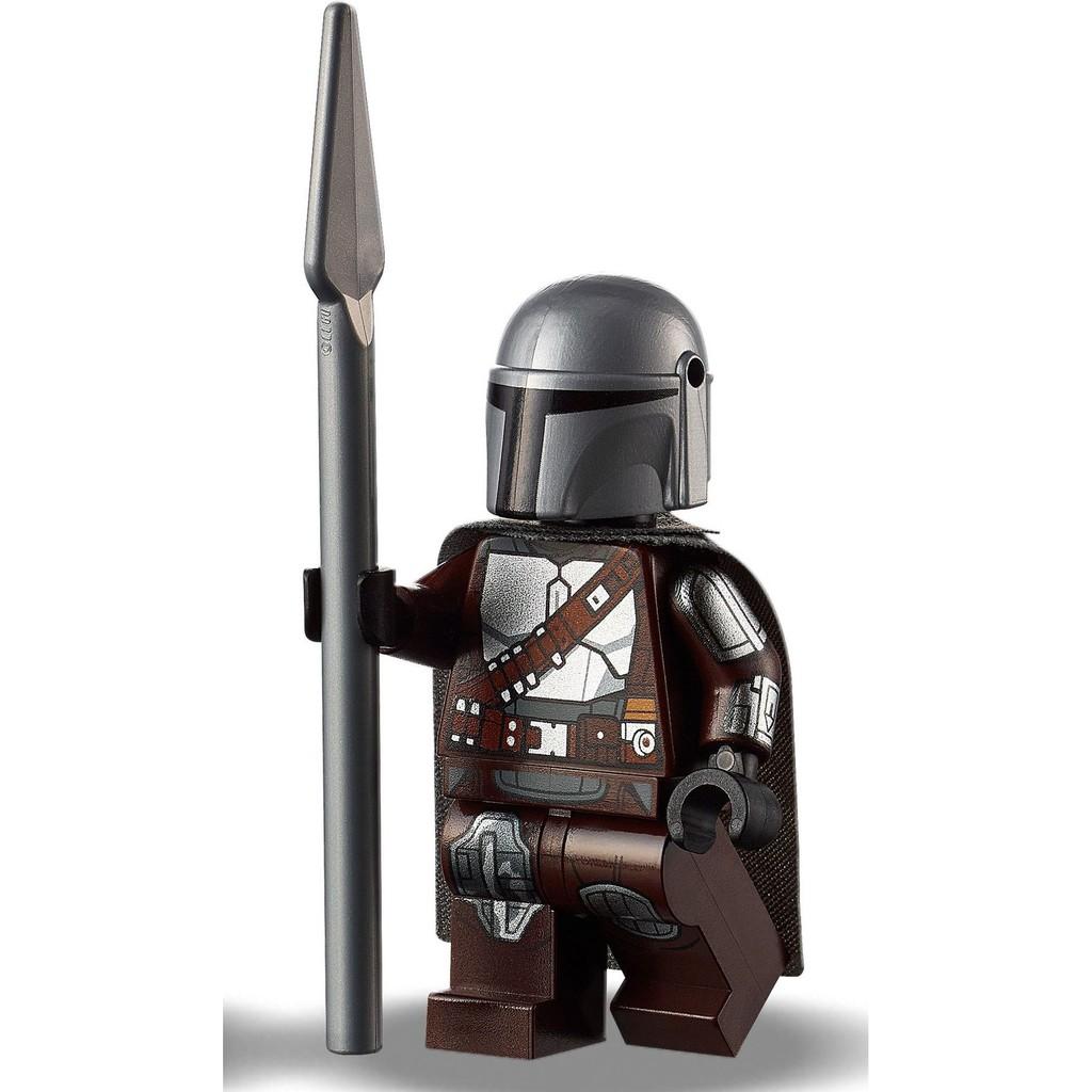LEGO 75312 Boba Fett's Starship 拆售人偶 Mandalorian 曼達洛人