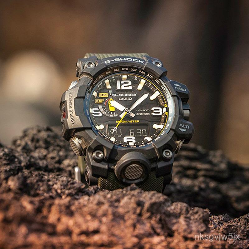 代購大泥王太陽光能六局電波錶卡西歐g-shock手錶男正品GWG-1000-1A3公司貨