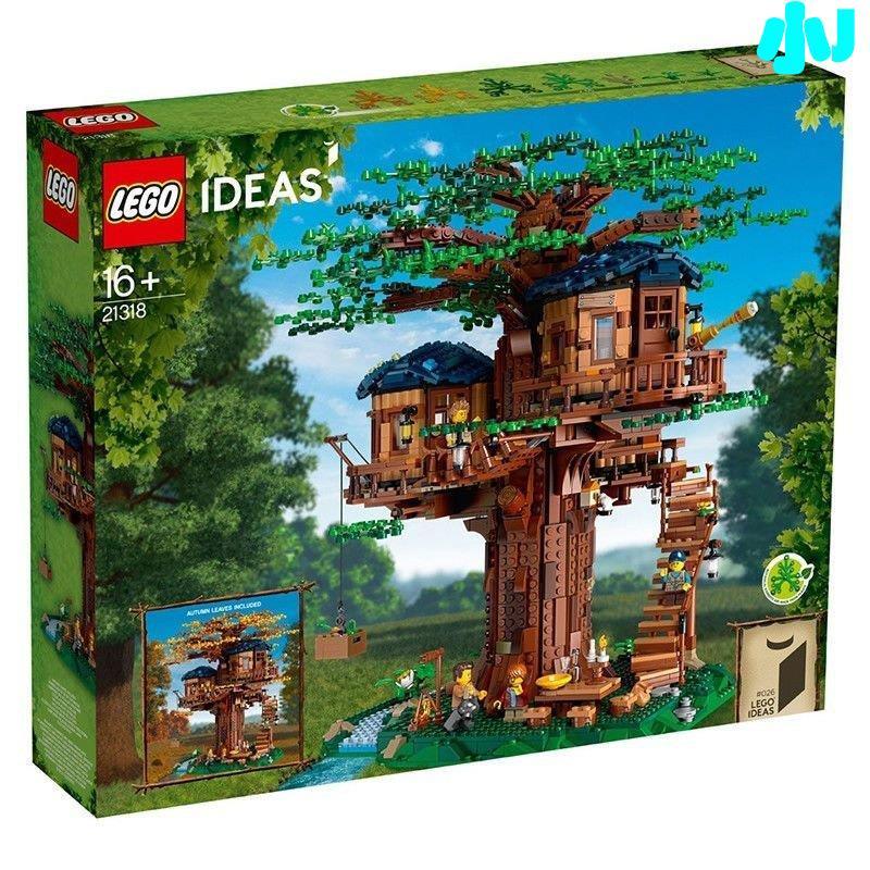 500 現貨正品保障樂高(LEGO)積木 Ideas系列 Ideas系列 樹屋 21318🎊小J--&&