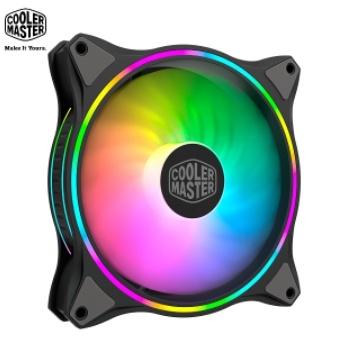Cooler Master MasterFan MF140 HALO 黑色 ARGB風扇