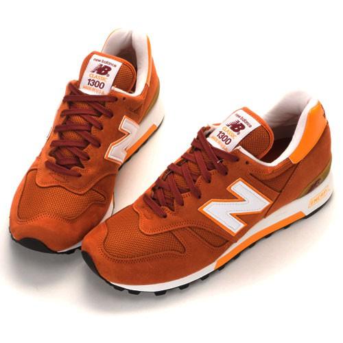 NEW BALANCE M1300CP 男款 休閒鞋 運動鞋 棕橘色 美產