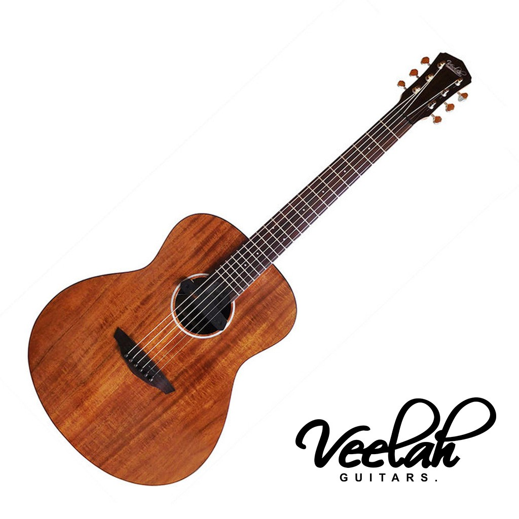 Veelah旅行吉他36吋 Mini Camper K EQ 小吉他 相思木單板 MC-KOA-E -【黃石樂器】