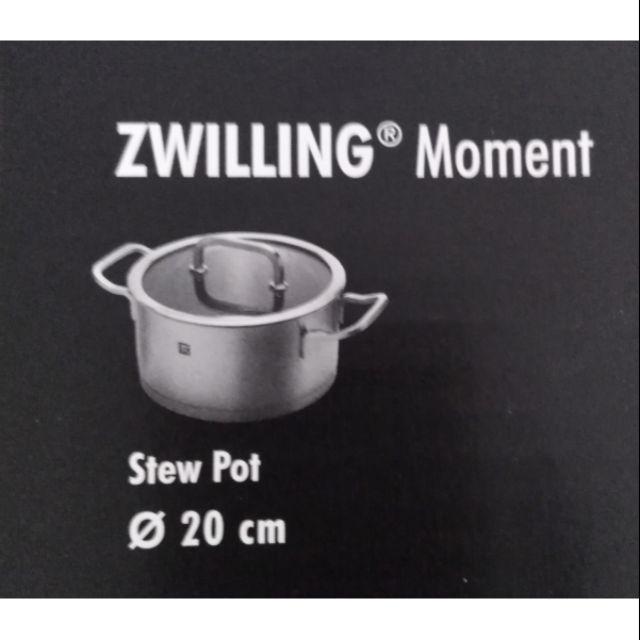 【Zilling Moment 德國雙人牌】雙耳淺湯鍋 (20cm) 導磁不銹鋼鍋底