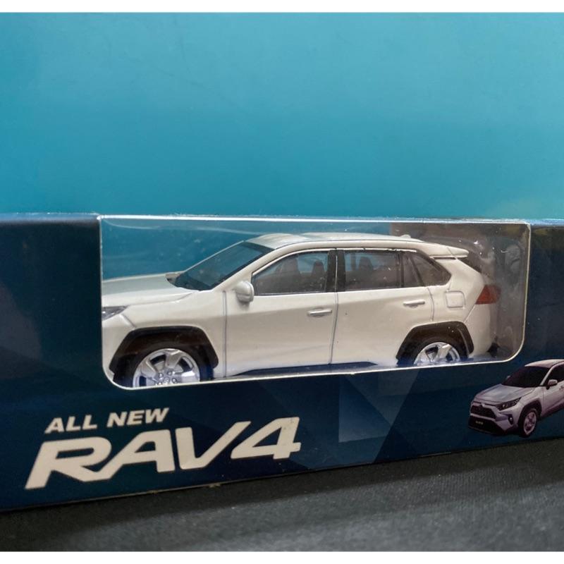 Toyota RAV4 1:43模型車 現貨1台⚠️