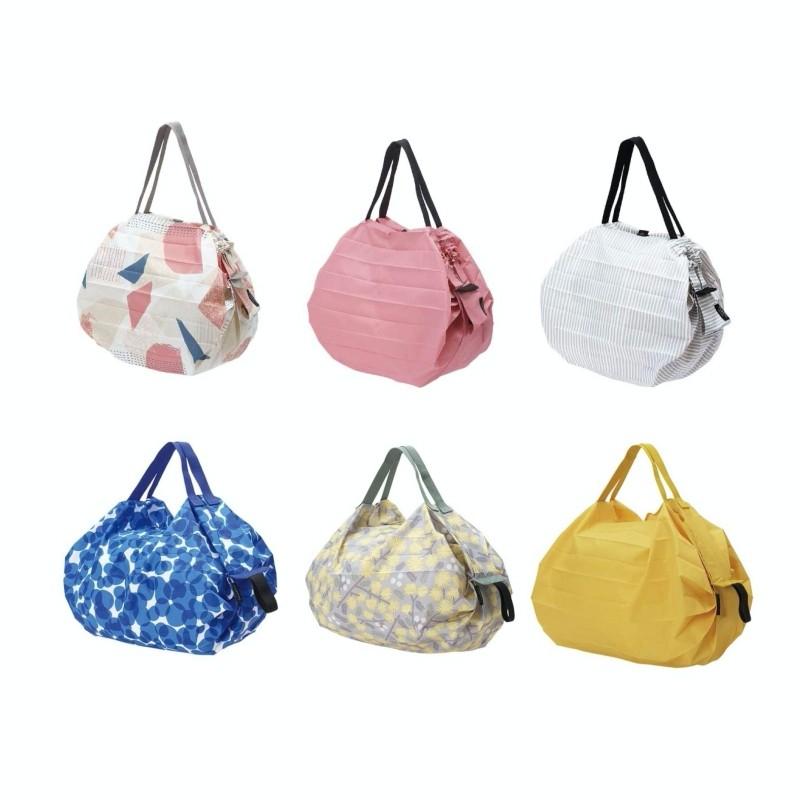 【MARNA】Shupatto 輕巧秒收環保袋(新花色) 折疊 環保袋 購物袋 收納袋 日本進口