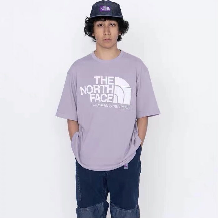 PALACE x THE NORTH FACE PURPLE LABEL TEE 紫標短袖