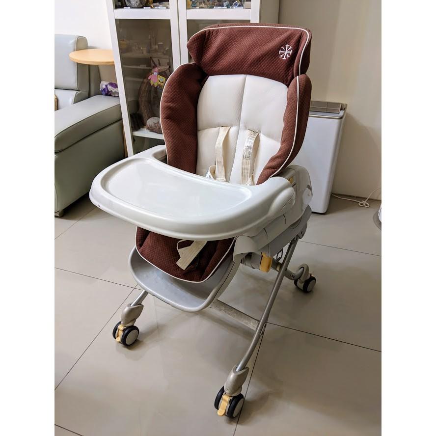 Combi Roanju 餐搖椅 餐椅 用餐椅 (送涼墊)