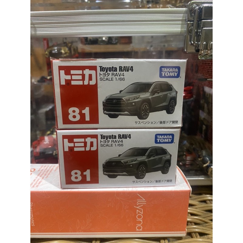 Tomica 81 TOYOTA RAV4 多美 豐田 1/64 1:64 休旅車 小汽車 模型車