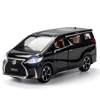 【W先生】1:24 1/ 24 凌志 Lexus LM300h MPV 豪華商務褓母車 金屬 合金 聲光 迴力車 模型車 臺南市