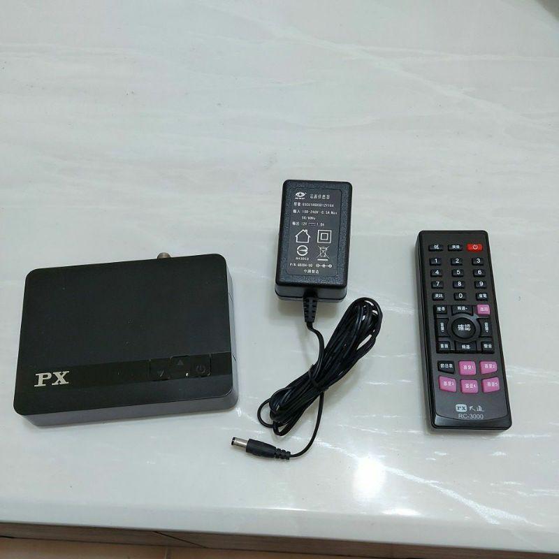 PX 大通 HD-3000 二手 HDMI高畫質數位電視機上盒