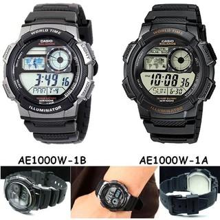 <秀>CASIO 專賣店手錶公司貨附保證卡及發票 10年電力錶款AE-1000W -1A    1B  飛機儀表板 雲林縣