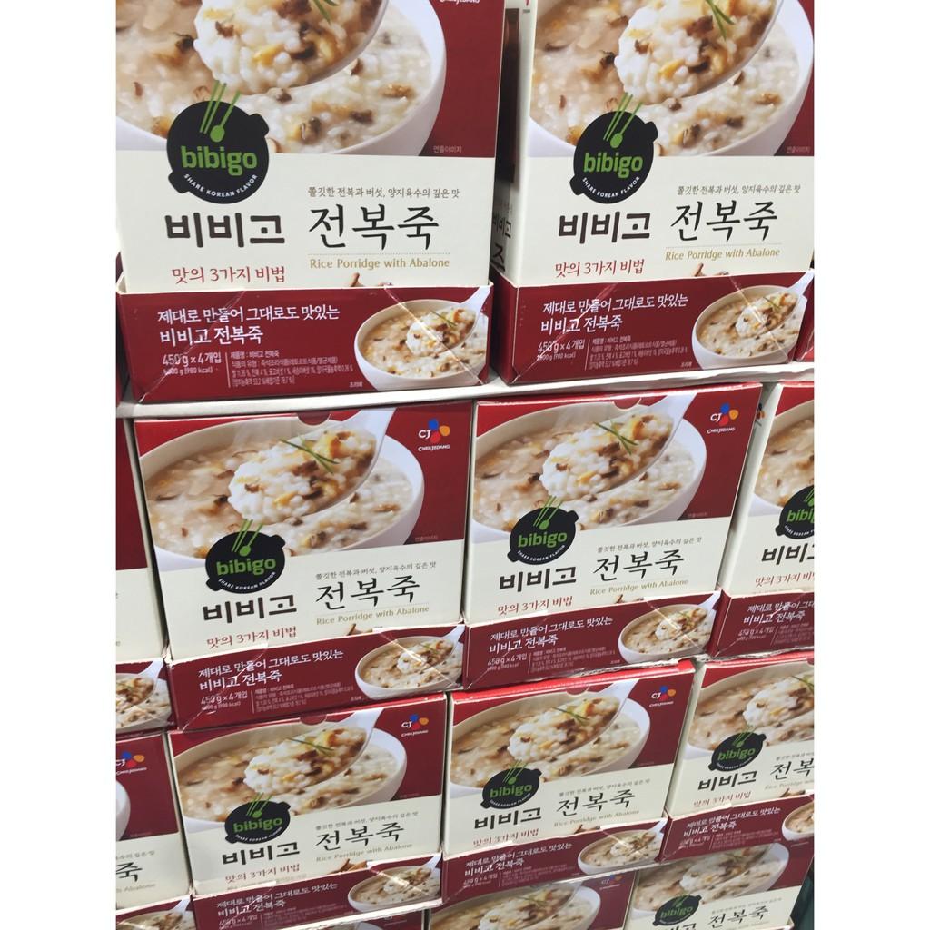 【Visual&M】CJ 韓式鮑魚粥 450公克4入 好市多代購 Costco