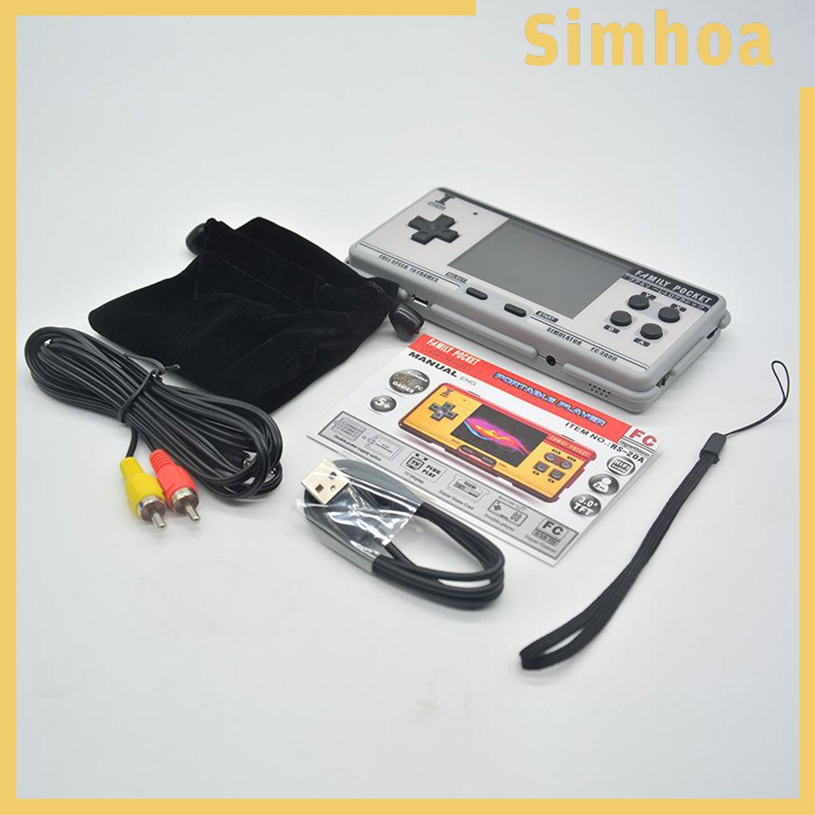 "[Simhoa] Fc3000 掌上游戲機 3\ ""高清屏幕視頻經典遊戲機"