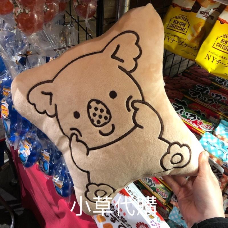 小熊餅乾 抱枕 日本代購