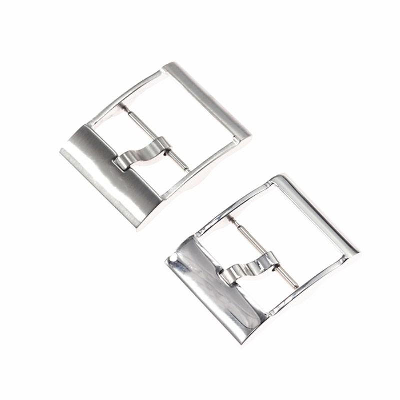 精品現貨適用百年靈手表帶表扣Breitling膠帶精鋼日字扣20mm不銹鋼扣配件