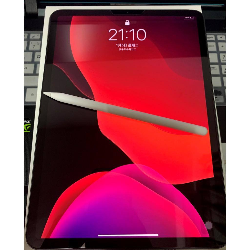 二手 apple ipad pro 2020 11吋 128g  保固內,附apple pencil 2及非原廠鍵盤