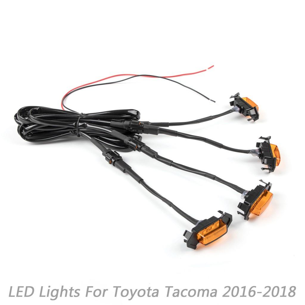 BTMOTO Toyota 專用水箱護罩用LED燈組 適用Tacoma 2016-2019