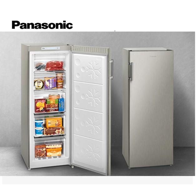 Panasonic國際牌 直立式冷凍櫃 NR-FZ170A-S 刷卡分期【雅光電器商城】