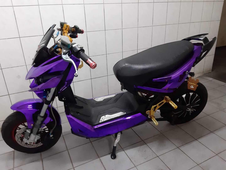 戰狼電動車極客新款X戰警電摩高速成人踏板電瓶車電動摩托外殼
