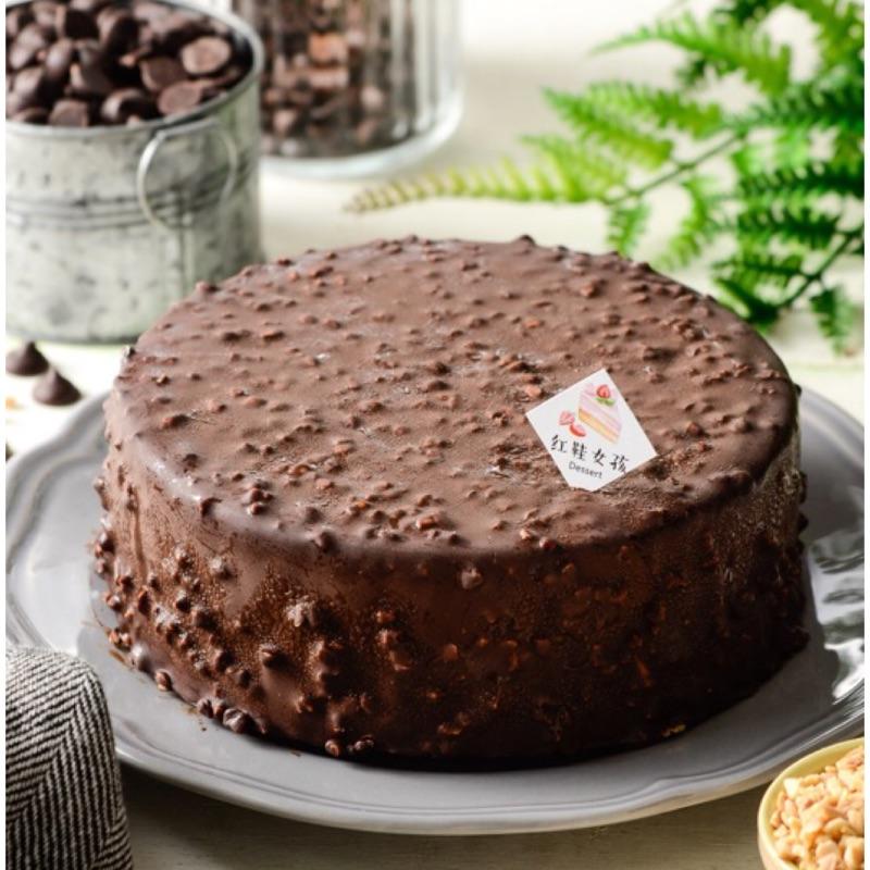 【紅鞋女孩】金莎巧克力乳酪慕斯蛋糕|6吋
