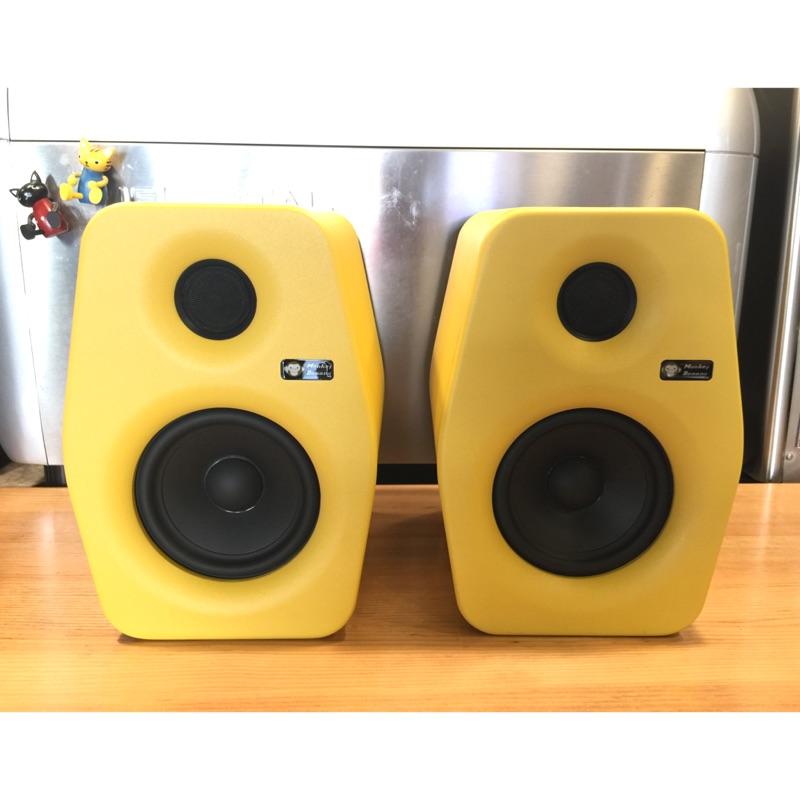 10%回饋 黑色現貨 宅錄首選 Monkey Banana Turbo 5 主動式監聽喇叭 電競 台中試聽|劈飛好物