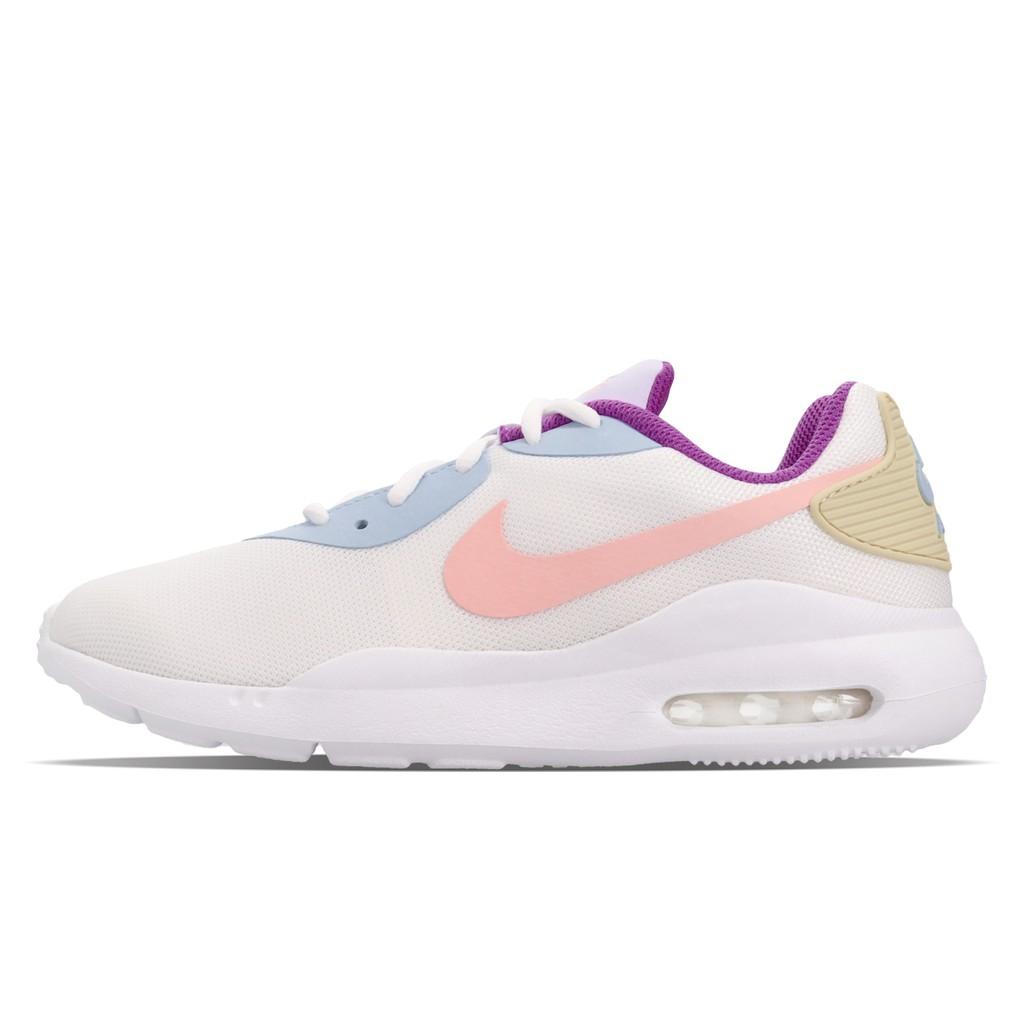 Nike 慢跑鞋 Wmns Air Max Oketo 白 粉紅 女鞋 氣墊 運動鞋【ACS】 AQ2231-104