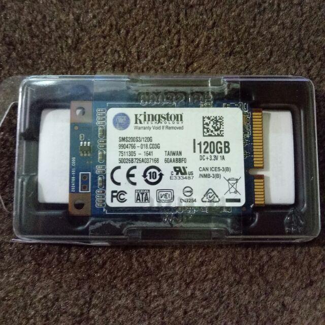 《全新現貨》金士頓 SSDNow mSATA 固態硬碟【SMS200S3/120G】(SYNNEX)