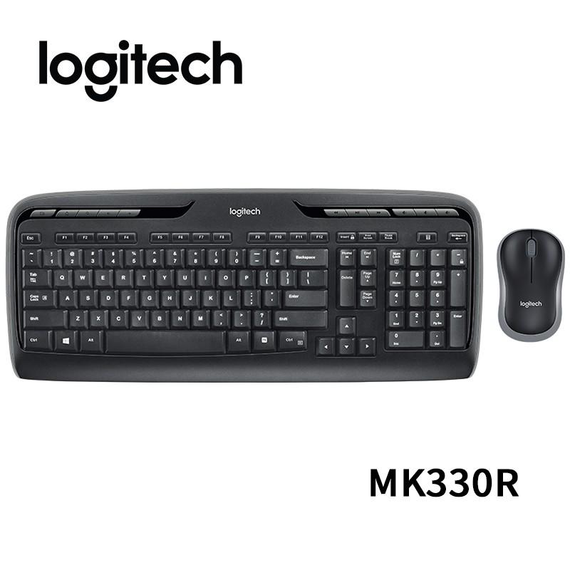 Logitech 羅技 MK330R 無線鍵鼠組