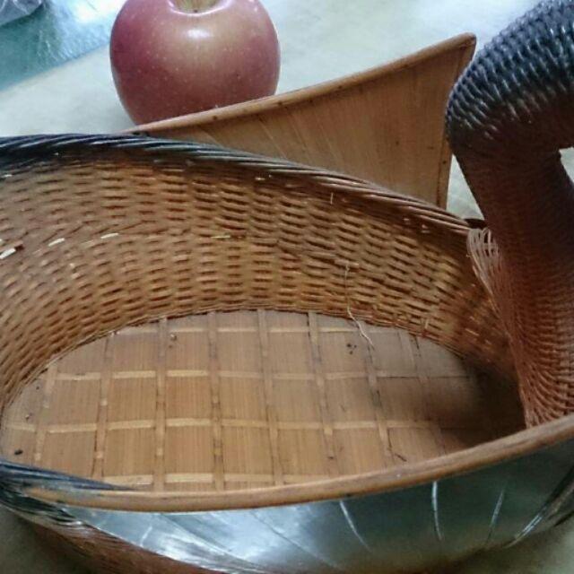 手工精緻竹製水果籃