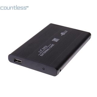 (新品熱銷)外接2.5寸 USB 2.0 SATA移動硬碟盒 最大支持3TB COU