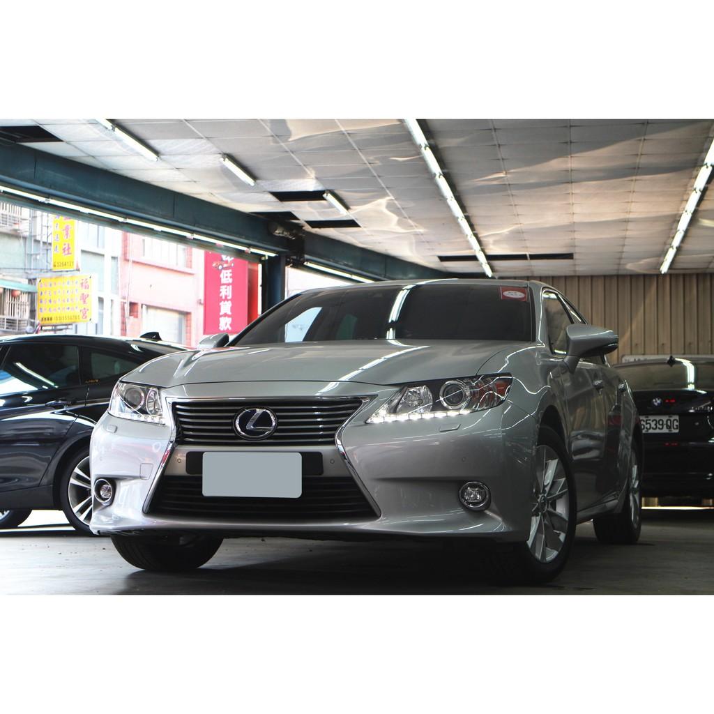 【阿彥嚴選認證車-Yencar】2014年 Lexus ES300h 頂級中古車、二手車、 全額貸、車換車