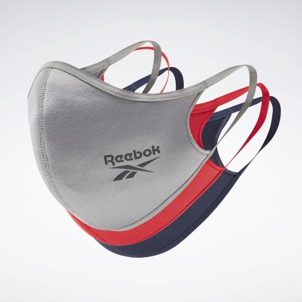 Reebok 口罩 三入裝 男/女 非醫療 彈力繞耳設計 三色 HA0432