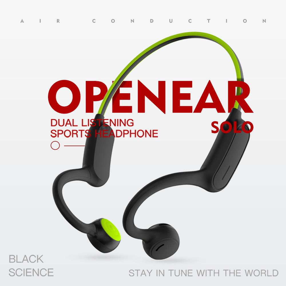 免運【骨傳導】  OPENEAR Solo雙聽耳機 外放定向音頻耳機 骨傳導耳機 新概念空氣傳導