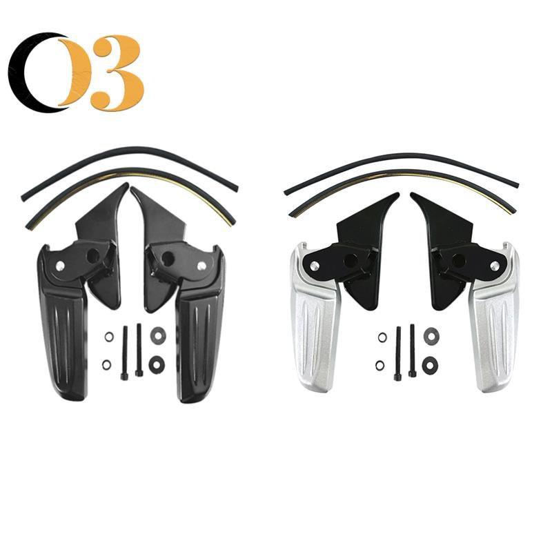 摩托車折疊踏板摩托車改裝腳踏板用於比亞喬Vespa Spring Primavera LX LXV 150 125 A