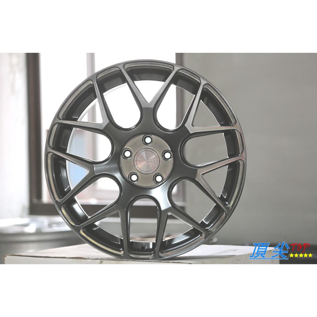 【頂尖】全新美國品牌 AG M590 19吋鋁圈 5X112 8.5+9.5J ET45 適用於賓士車系 鈦色