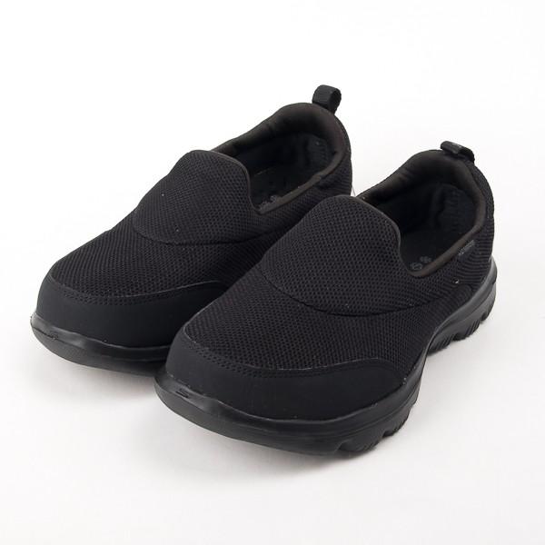Skechers  Go Walk Evolution 健走鞋-全黑 工作鞋 警察 勤務鞋 15767WBBK  現貨